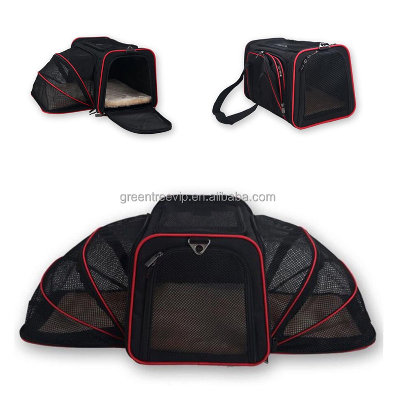high quality foldable dog carrier dog bag pet carrier