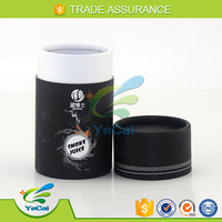 Wholesale custom printed round shaped Cigarette paper cardboard packaging box