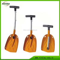 Multifunction Car Snow Shovel, Aluminium Telescopic Car Snow Shovel,Emergency Shovel,