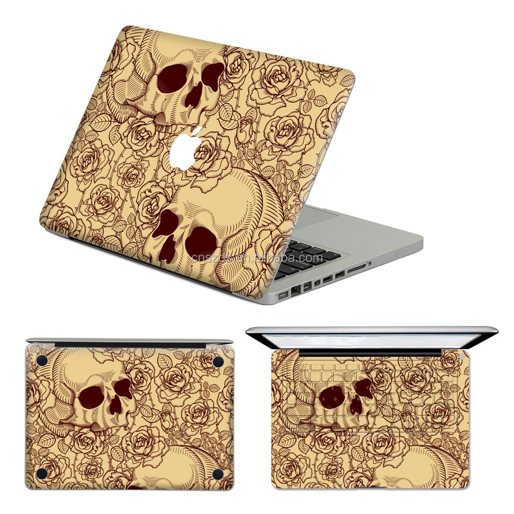 High quality waterproof Color laptop decal stickers cover skins for MAC book ACD covers