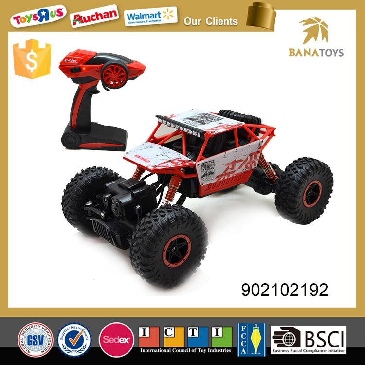 High quality 1:18 2.4G 4 wheel drive rc electric toy car for kids