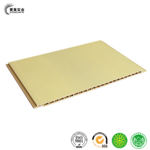 Thickness 9mm PVC, WPC interior wood wall cladding, interior panel