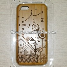 FL2845 2013 Guangzhou hot selling oem bamboo wood phone case cover for iphone 5c