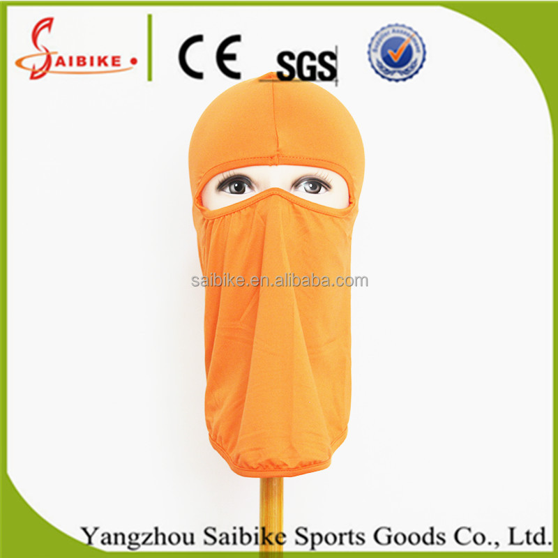 Comfortable Colorful Fashion Style Russia Winter Windproof Spandex Ski Masks