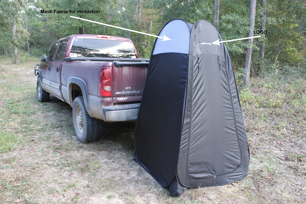 Portable pop up shower tent with solar shower made by Beijing factory