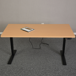 Top Electric Ergonomic Office Furniture Electric Sit Down Stand Up Height Adjustable Standing Desk