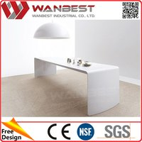 Beige Marble Artificial Stone Picture Of Dining Table Coloured Acrylic Coffee Tables