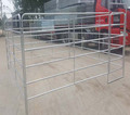 Galvanized 6 Bars Horse Yard Panel with walk through gate