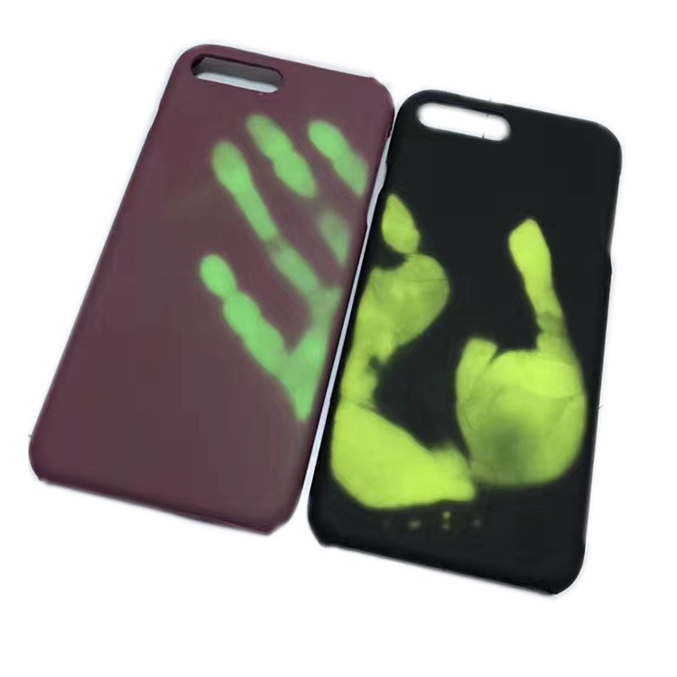 Free Sample 2017 New Style Temperature Sensing Luminous Wholesale Cell Phone Case For Iphone 7