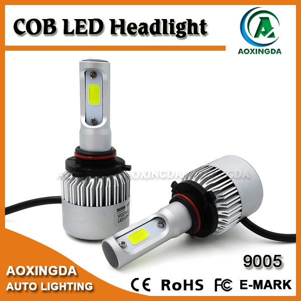 High power 4000lm cob 9005 hb3 PY20D LED headlight bulb