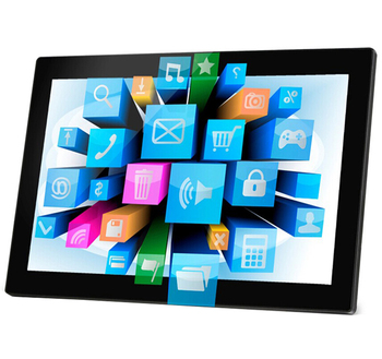 wide screen 10 point capacitive 18.5 led touch screen monitor for advertising
