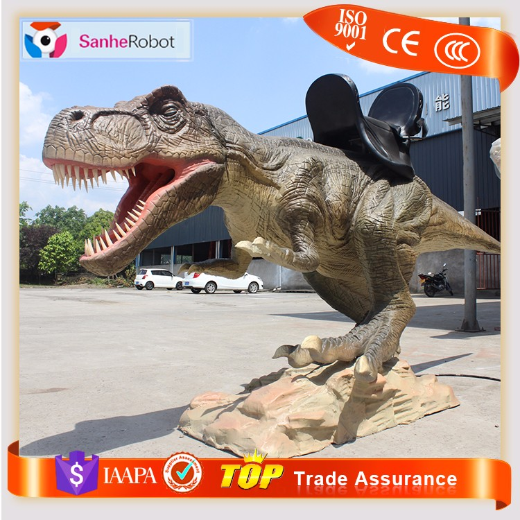 SH-DR099 Qualified Mechanical walking T-rex dinosaur ride for kids
