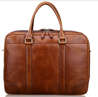 china factory high quality mens leather briefcase