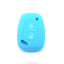 Fashion Silicone Car Key Case Silicone Car Key Cover 2 Button For Renault