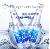 fresh soda water with good quality/mineral water