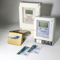 DDSY7666 CHSENTE single phase with ic card prepaid electric smart meter