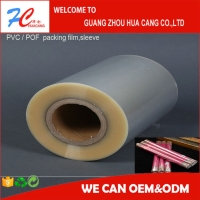 new product nvironmental protection heat shrink wrap cling film,PVC/POF/PE/PET wrapping film