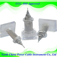 Aluminum Conductor AAC & ACSR & AAAC AACSR ACAR Bare Conductor acsr conductor specifications
