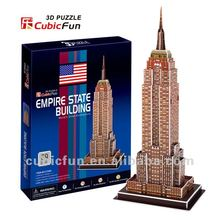 3D Puzzle Empire State Building paper model