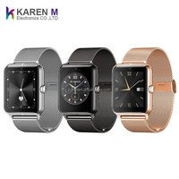 Stainless Steel Wristwatch Bluetooth Sim Card