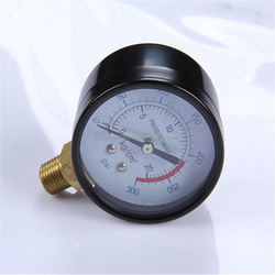 Durable Light Weight Easy To Read Clear long-life welding bourdon tube pressure gauge