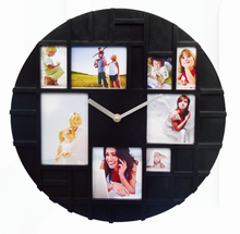 fashionable kid pictures decorative art wall clock