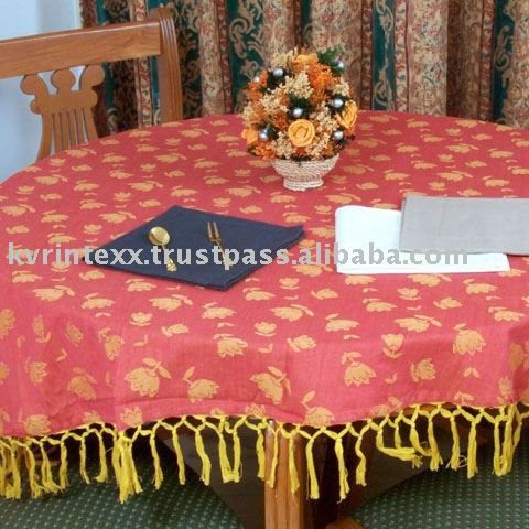 100 pct spun polyester napkin and table cloth