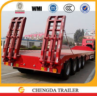 multi axle 130-150 ton lowboy trailer for excavator