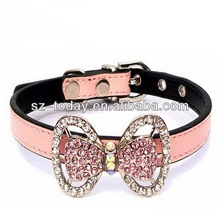 Cute and beauty rhinestone pet collar making supplies