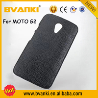 New Mobile Phone 2016 Android Hard Case Cover For Motorola Moto G2 Case Genuine Leather Phone Cases Fashion