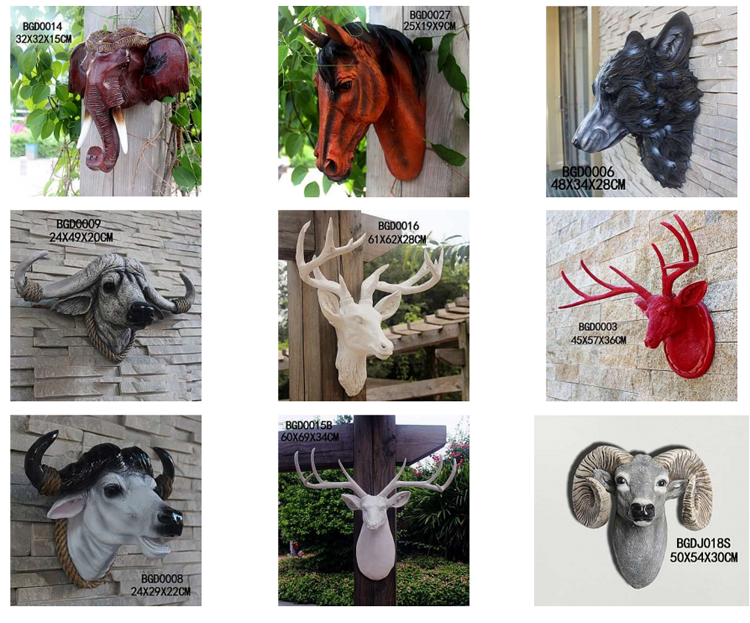 European Home Decor Different Types of Arts and Crafts Animal Figures