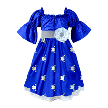 New Design Fashion Cotton Print 3-12yrs Old Cheap Summer Baby Girl Children Party Wear Dress