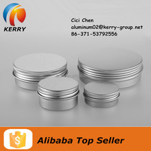 Small Aluminum Tin Jar Can For Skin Whitening Cream
