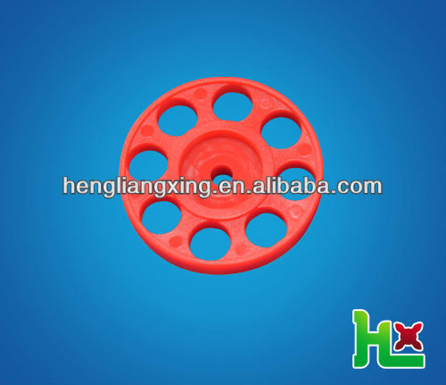 red plastic ring wheel for education application