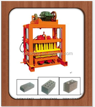 Hot sale QT4-40 interlock block machine / concrete block machine / hollow block making machine