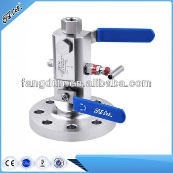 double block &bleed valve high pressure oil&subsea, incoloy, moneul, super dplex, exotic material