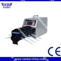 Large flow rate diy peristaltic pump for lab