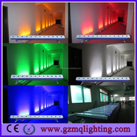 Hot sale led wireless dxm led strip lights 12x18w RGBWA+UV 6 IN 1 Led battery operated wireless dmx led uplights