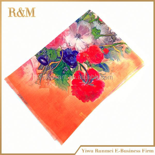 High quality acrylic square scarf
