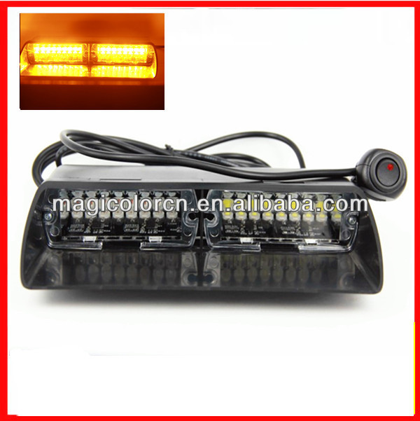 Manufacture Price 48W 16 pcs led Viper S2 Federal Signal LED Dash Warning Light