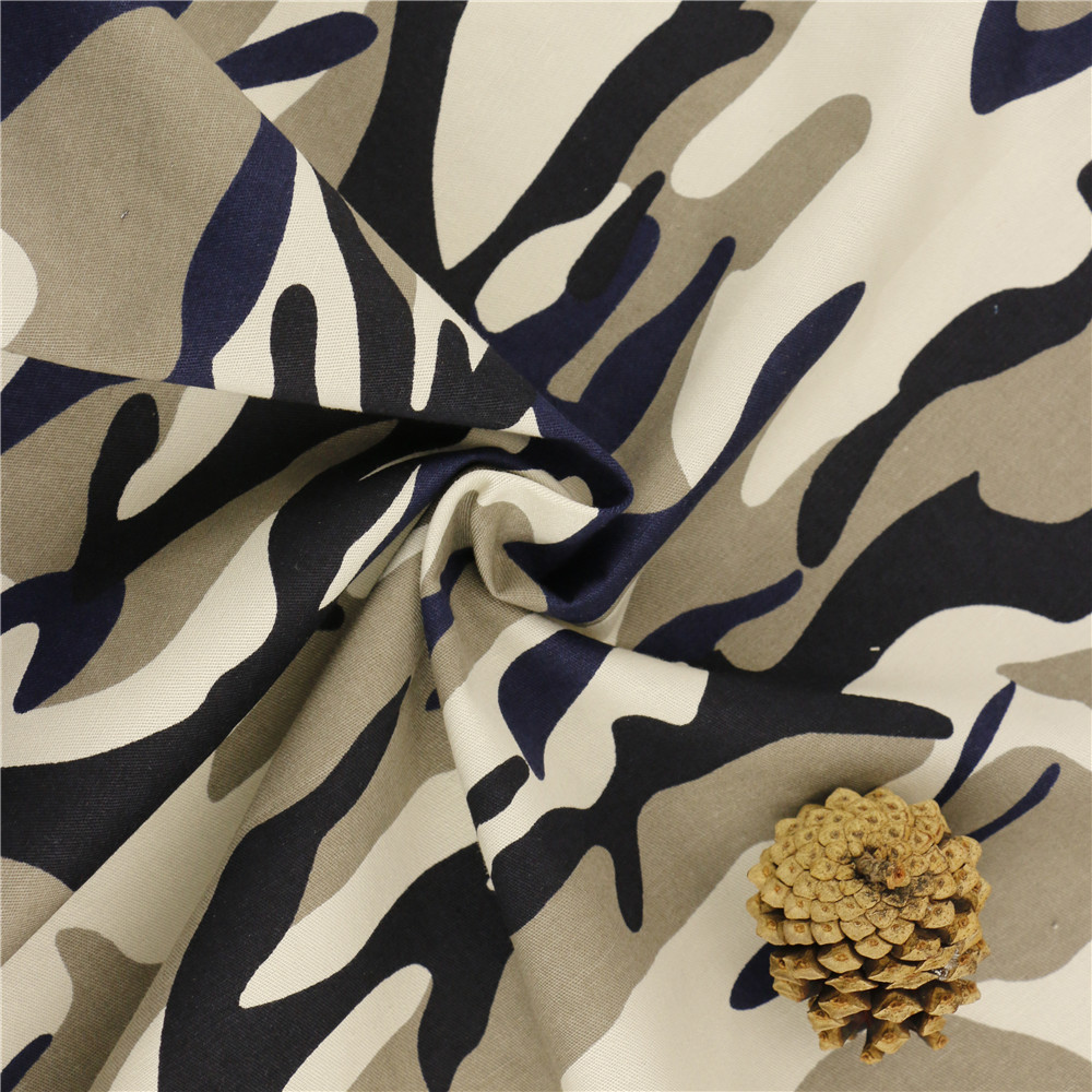 164cm 32x21/120x56 164gsm cotton twill Creative Print Fabric 100% Cotton Camouflage Fabrics