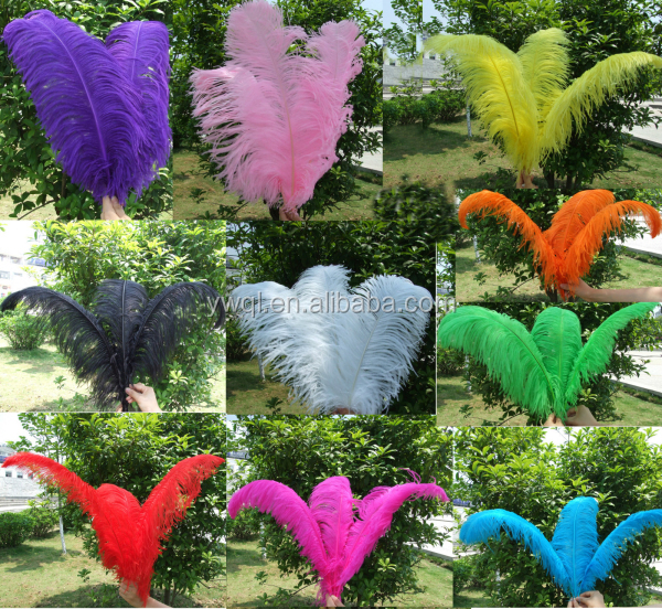 cheap ostrich feather for wedding