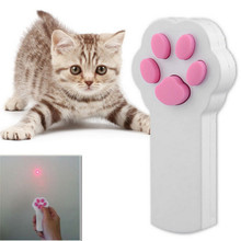 Pet Cat Paw Chaser Interactive LED Electric ABS Puzzle Laser Cat Toy