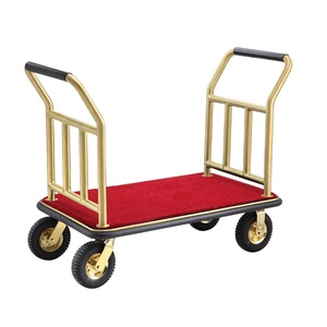 Hotel Lightweight Luggage Wheelbarrow