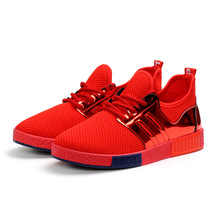 Popular name brand basketball sports red/black shoes for men