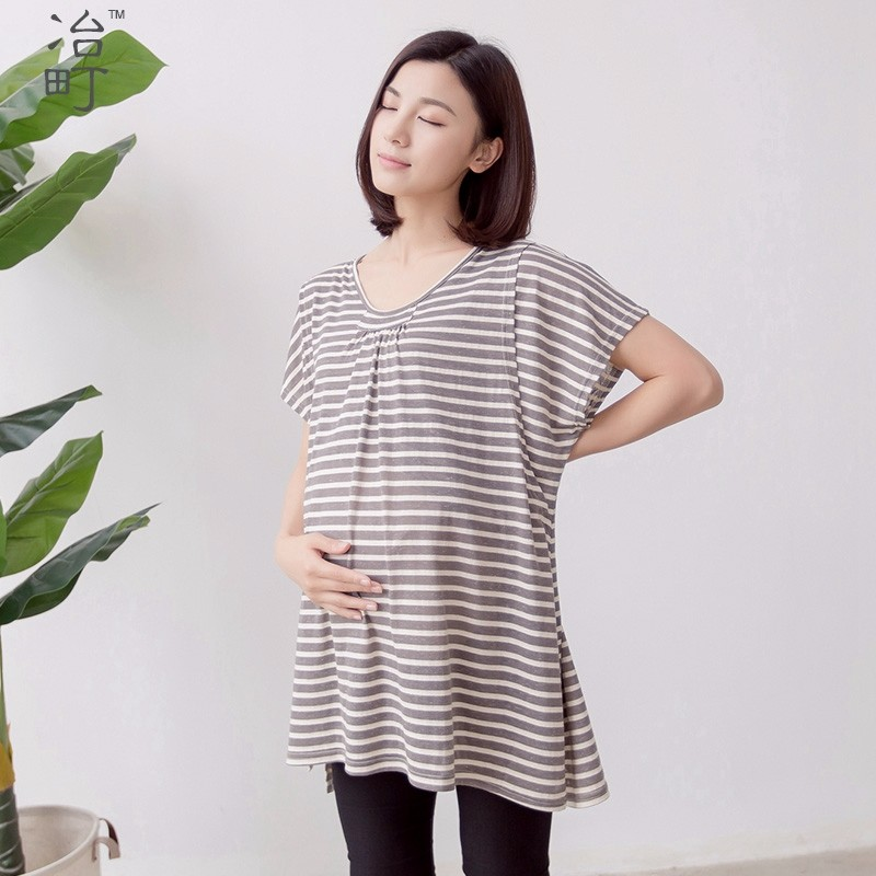 Factory supply dropshipping maternity clothes nursing dresses for pregnant woman