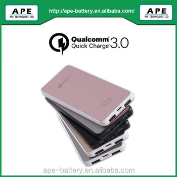Quick charge 3.0 power bank 8000mAh