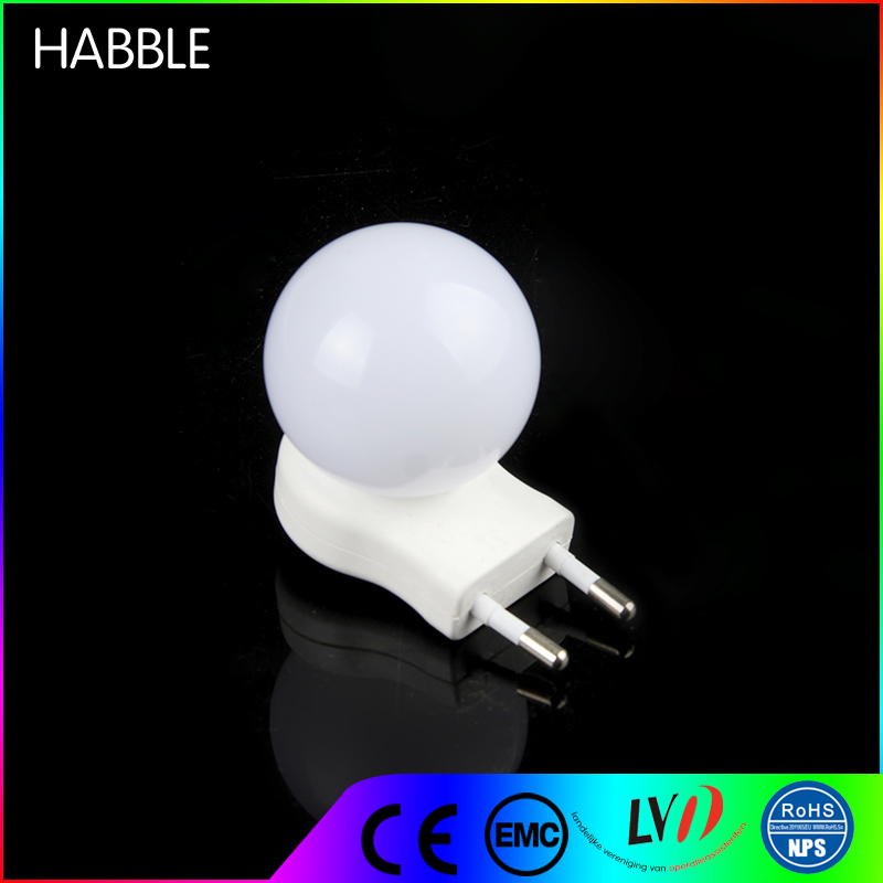 Top quality 220 volt bulbs ball night light led with socket for kids