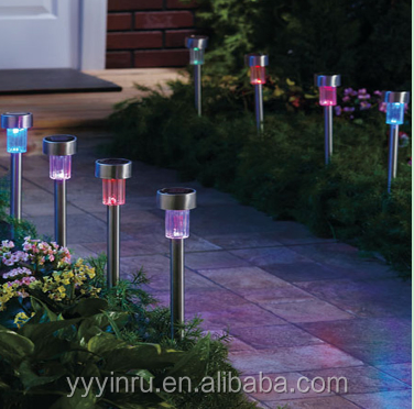 IP65 IP Rating and solar powered LED Landscape lighting Item Type led garden stake lights