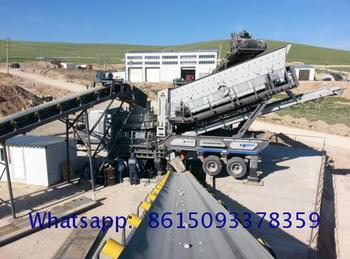 Factory Price wheeled mobile jaw crusher Manufacturer